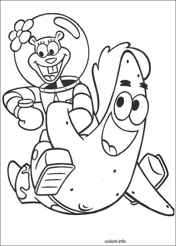Desenhos Para Pintar Bob Esponja Desenhos Para Coloring