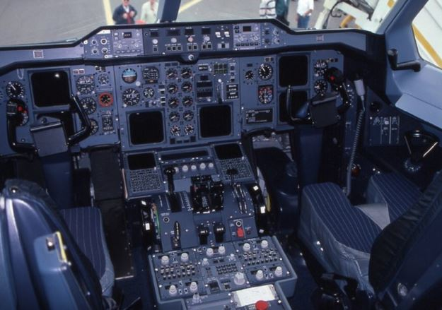 Airbus Beluga cockpit