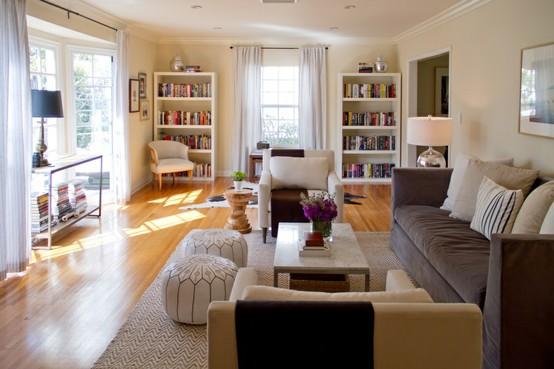 wonderful long narrow living room | Green Street: Long & Narrow Living Room