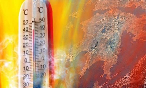 Θερμό κύμα για 4η μέρα -  Πάνω από 42 βαθμούς η θερμοκρασία