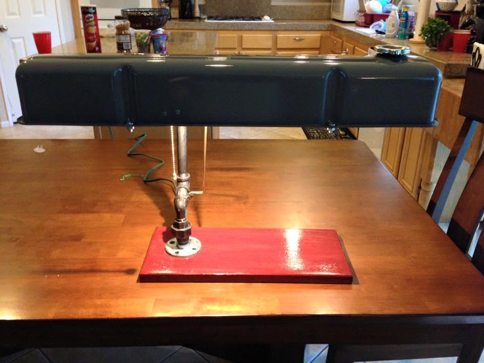 Great Idea For A Valve Cover Desk Light