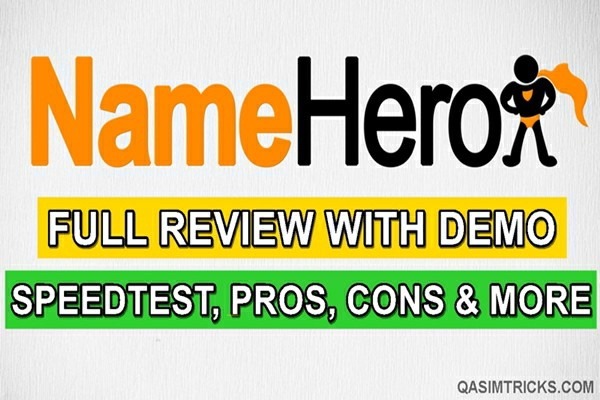 Namehero hosting full review 2021 including speed test, uptime performance test, ease of use and more