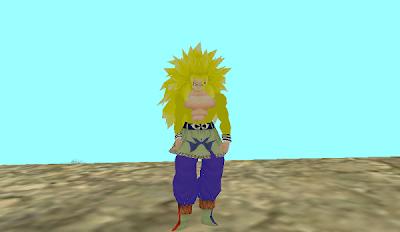 Skin Goku SSJ7 - GTAind - Mod GTA Indonesia