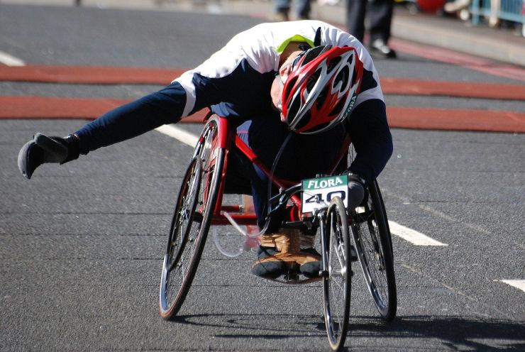 wheelchair user Marathon
