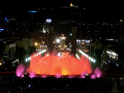 Magic Fountain in Montjuïc