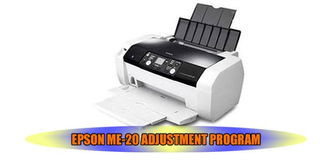 EPSON ME-20 PRINTER ADJUSTMENT PROGRAM