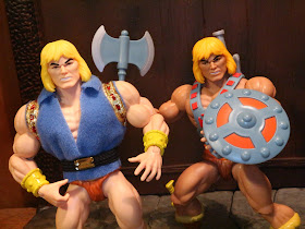 SDCC 2019 Exclusive Masters of the Universe He-Man /& Prince Adam 2 Pack In Stock
