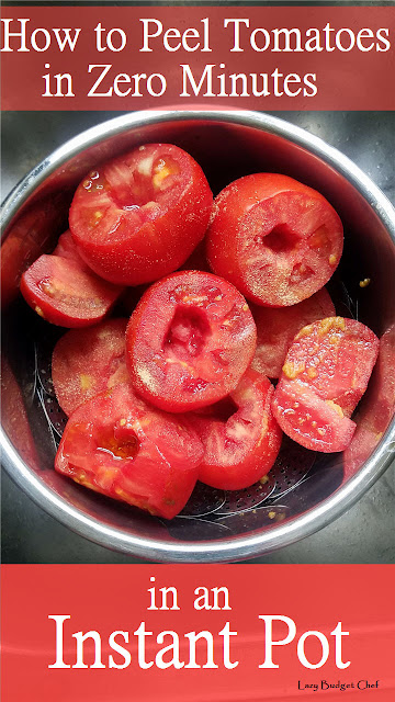 how to peel tomatoes in an instant pot