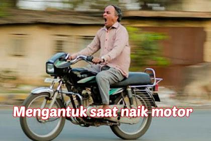 Ngantuk saat Naik Sepeda Motor? Begini Mengatasinya