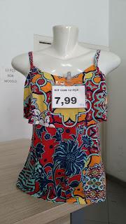 Moda feminina para lojas de preço único