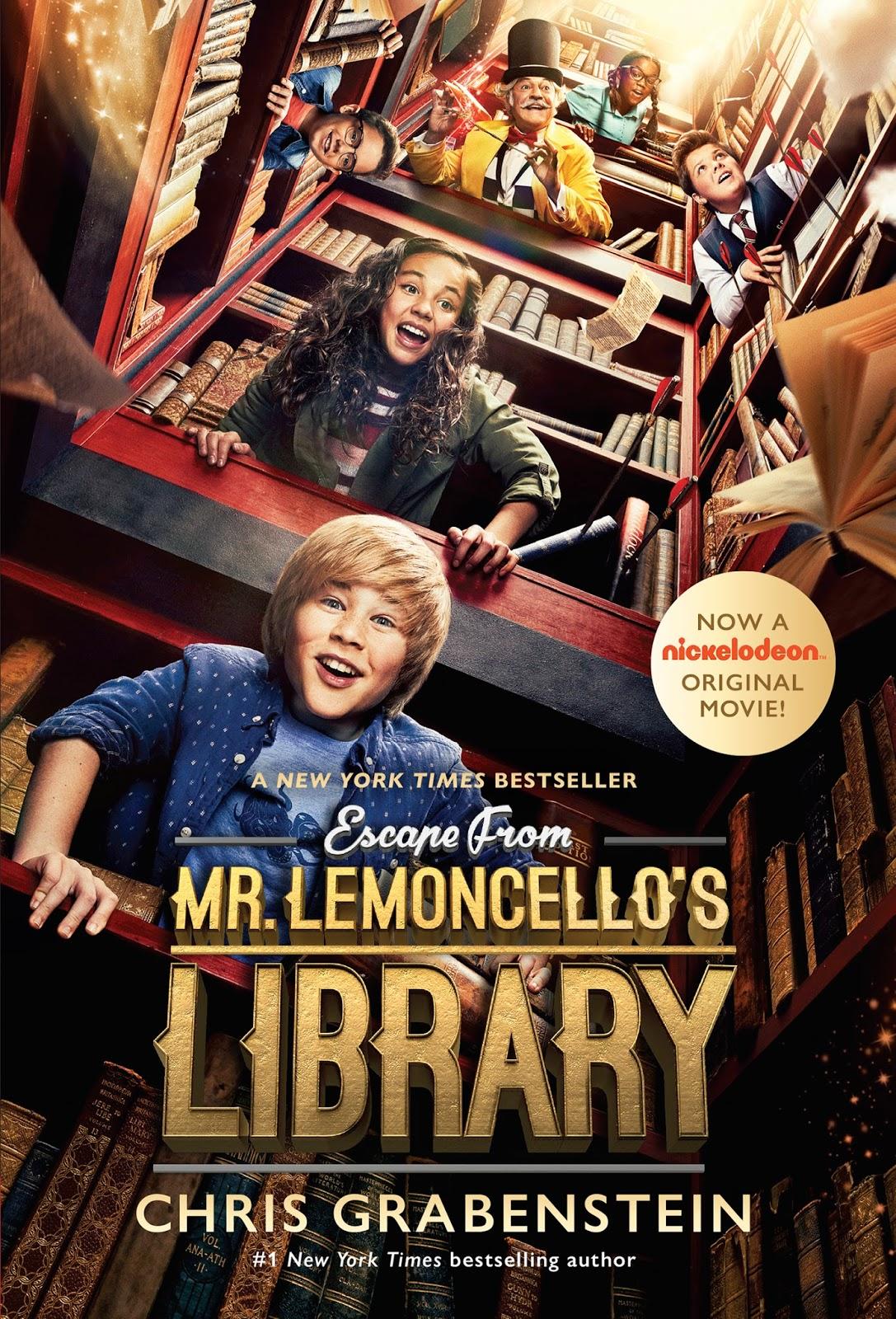 Fuga da Biblioteca do Sr Lemoncello Dublado