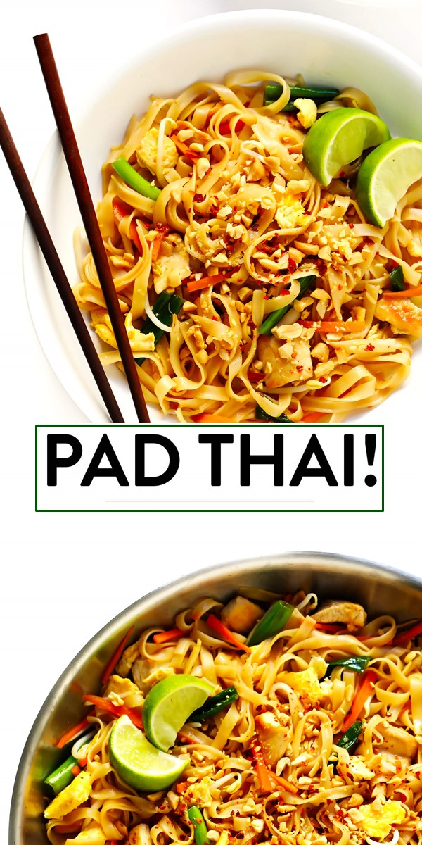 PAD THAI #dinnerrecipes