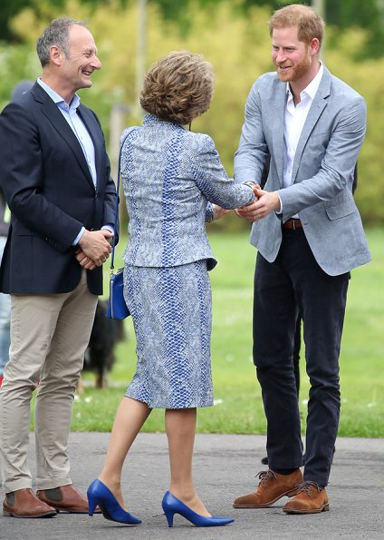 Prince Harry met with Dutch Princess Margriet. Duchess of Sussex, Meghan Markle and Archie Harrison Mountbatten-Windsor