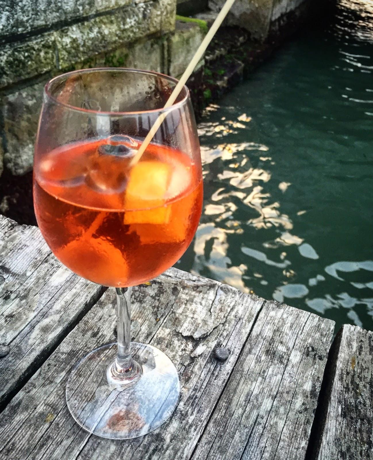 Pistachio: Aperol Spritz. Sernik I Drink. Idealne Na Lato