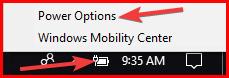PCX2 battery settings