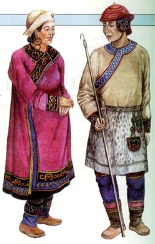 Одежда нивхов картинки
