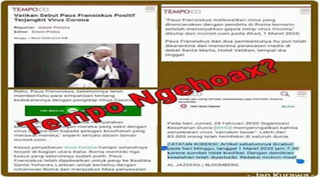 Media Tempo Harus Minta Maaf Kepada Khalayak