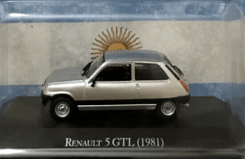 renault 5 gtl 1:43, renault 5 gtl 1:43 1981, renault 5 gtl 1981 autos inolvidables argentinos, autos inolvidables argentinos salvat