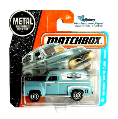 Matchbox, '55 Ford F-100 Delivery Truck