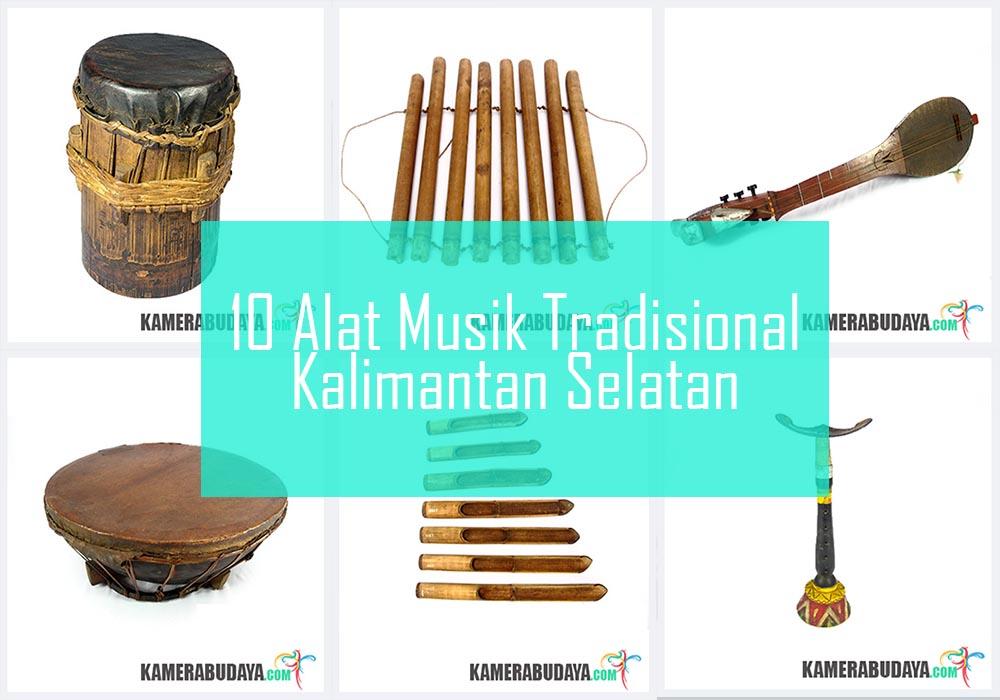 Inilah 10 Alat Musik Tradisional Dari Kalimantan Selatan