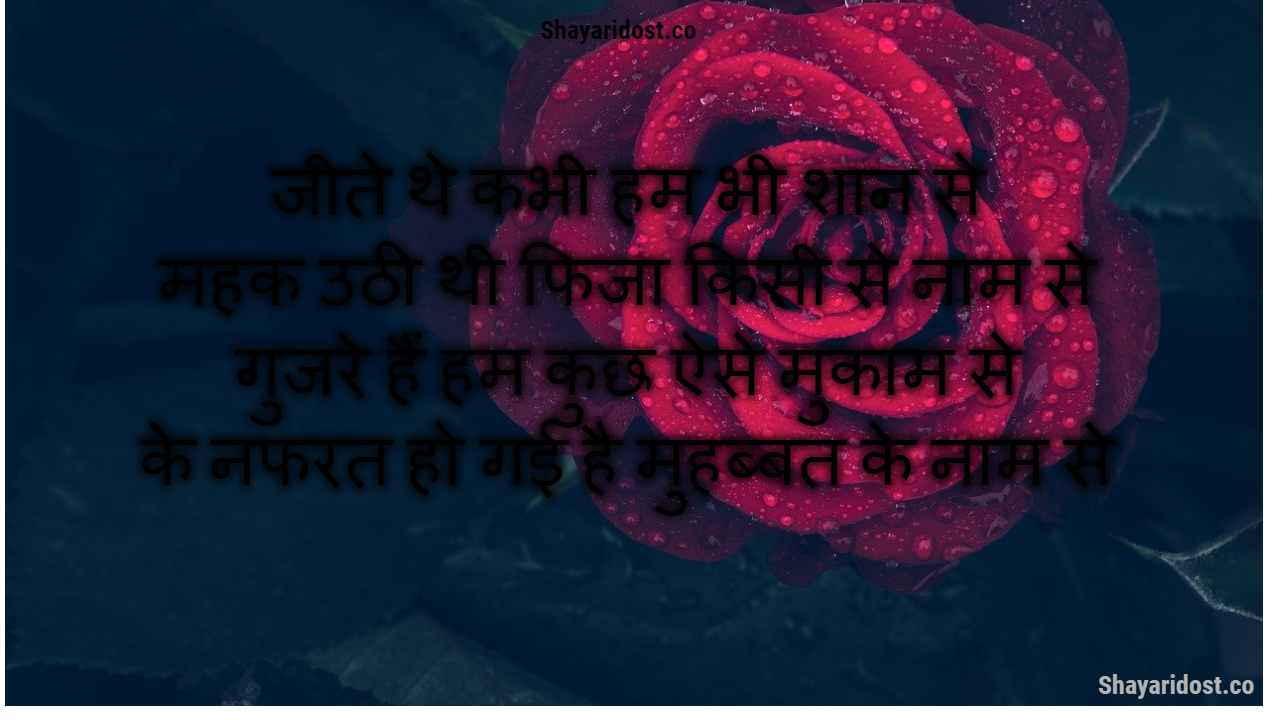 Love Thoughts Hindi | Hindi Love Shayari