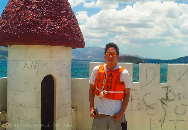 The Vandalized White Castle Island in Subic