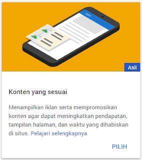 Pengalaman Mendapatkan Iklan Konten yang Sesuai (Matched Content) dari Adsense