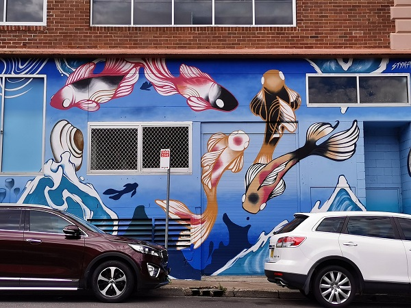 Bankstown Street Art | Styna Byna