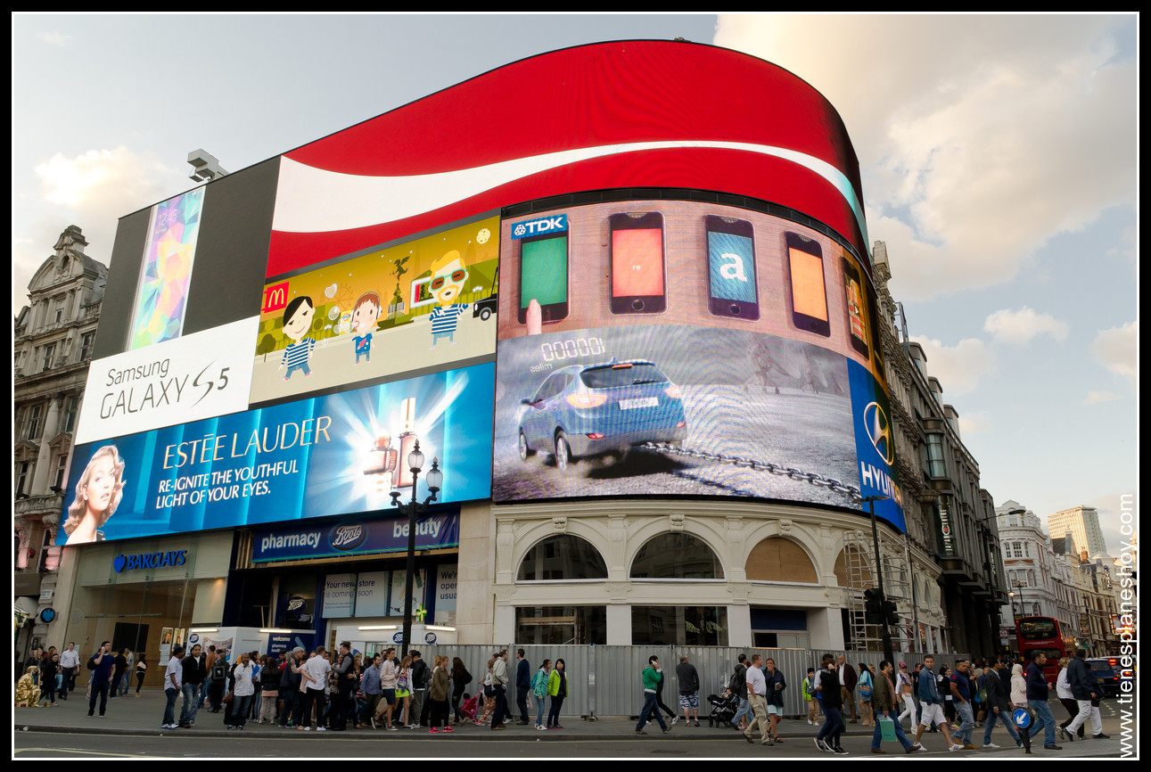 Picadilly Circus Londres (London)