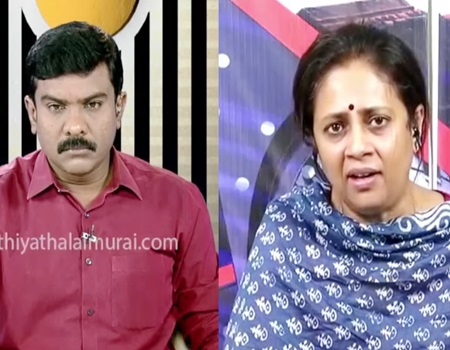 Lakshmy Ramakrishnan Speech | Puthiya Thalaimurai Tv