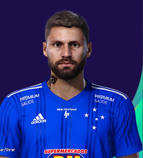 PES 2021 Faces Rafael Sobis by Lucas