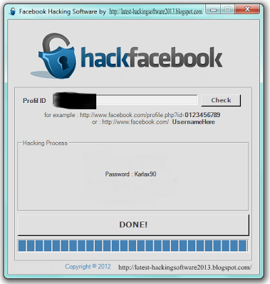 Simplest Way You Can Hack A Facebook Account This Software Is So S Facebook Pword Hacker 2013 Free Download Latest Hacking Softwares 379x400