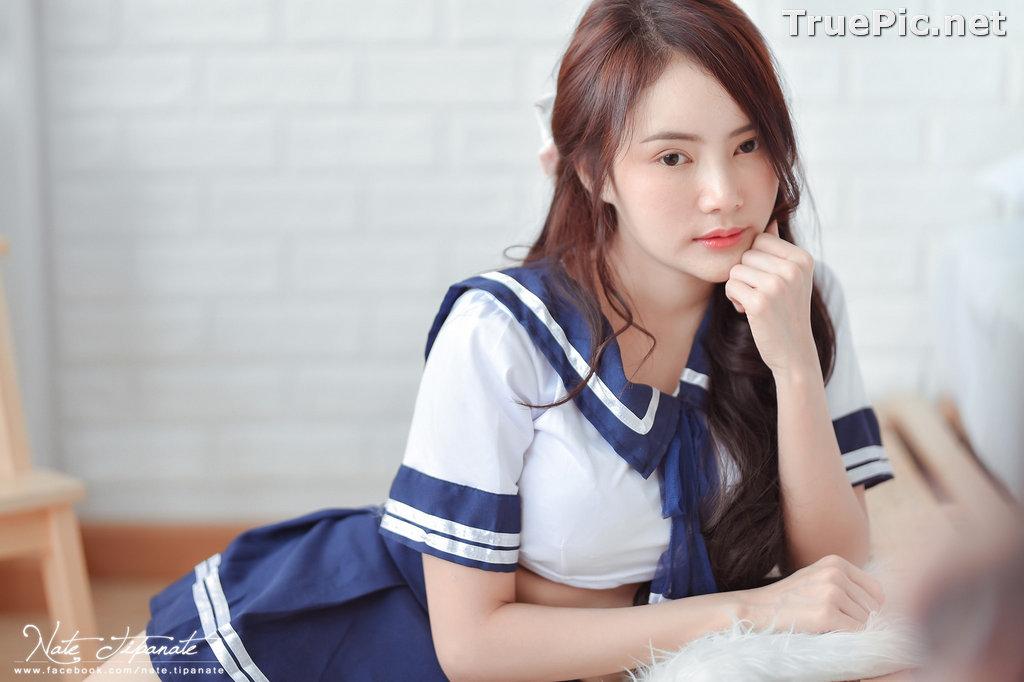 Image Thailand Model - Nattanicha Pw - Japanese School Girl Uniform - TruePic.net - Picture-9
