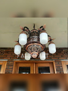 Kerajinan Tembaga Kuningan Lampu Nabawi