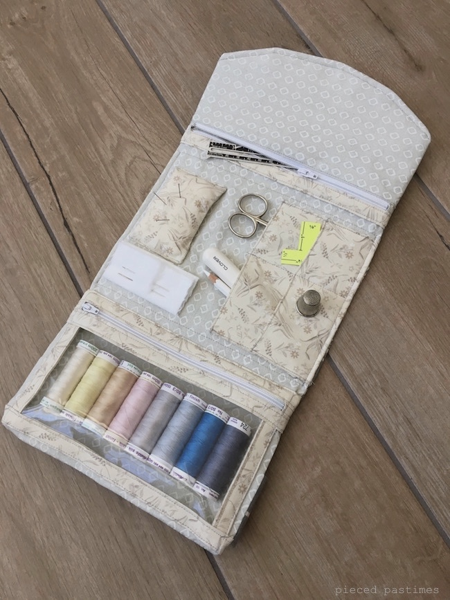 Travel Sewing Kit at Pieced Pastimes