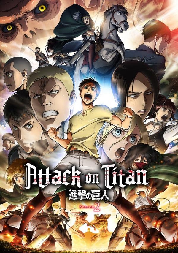 Атака Титанів 2 сезон На бій проти титанів