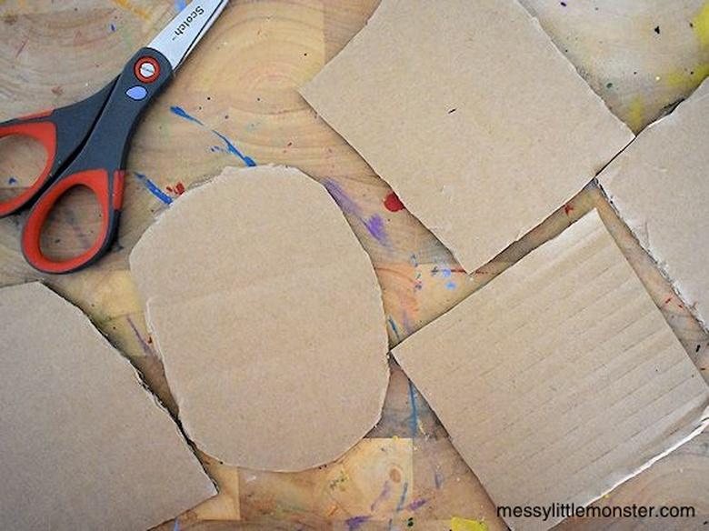 cardboard craft for kids