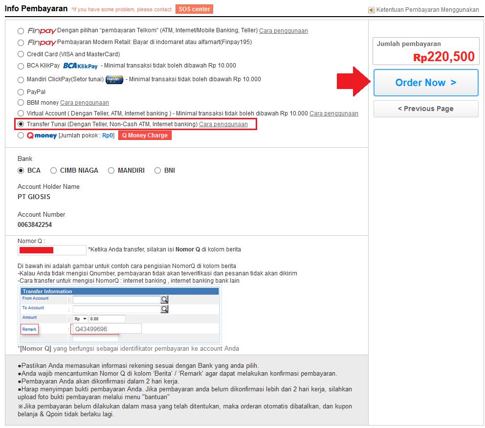 Cara Beli Barang dan Belanja Online di Qoo10 Indonesia. Mungkin bisa anda  langsung transfer ... b5493466b7