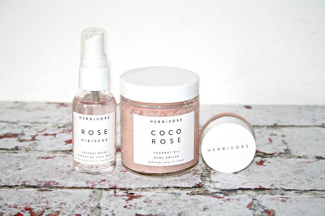 Herbivore Coco Rose Luxe Hydration Trio