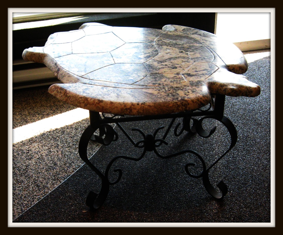 Granite Coffee Table