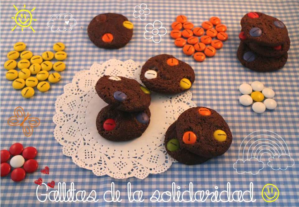 galletas-de-chocolate, galletas-de-lacasitos, m&m-cookies