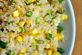 Quinoa dengan Campuran Jagung