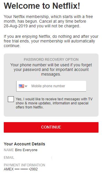 Working Bin For Netflix