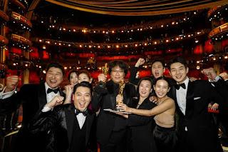 El equipo de Parásitos, Oscars 2020
