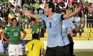 Uruguay vs Bolivia en Eliminatorias CONMEBOL 2017