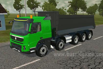 Mod Truck Volvo FMX E5 10x4 Dumper By MAH Channel