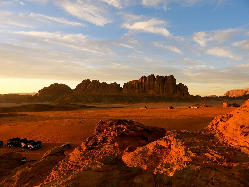 Wadi Rum (Valley of the Moon), Jordan - A Beautiful Desert Valley