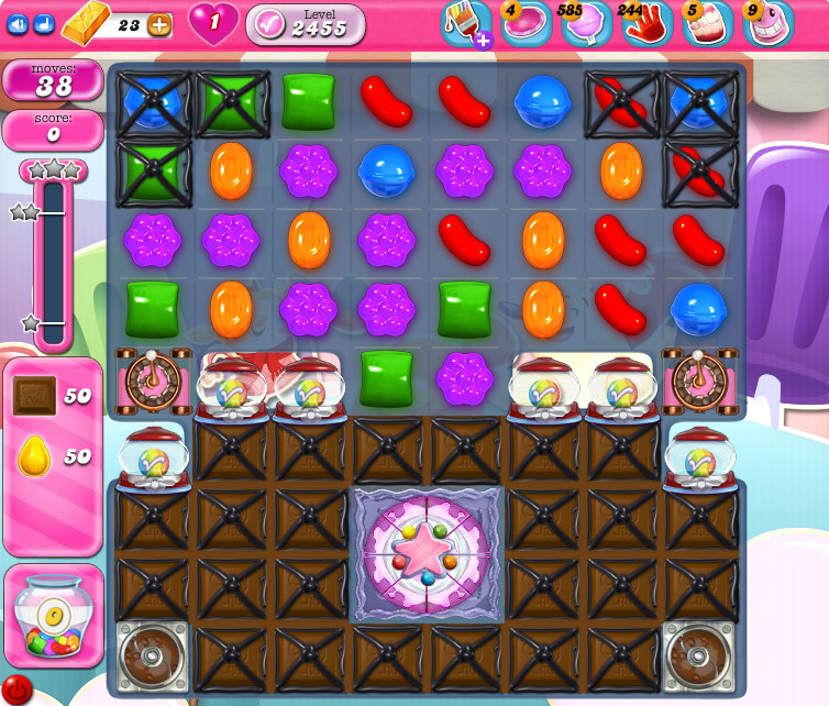 Candy Crush Saga level 2455