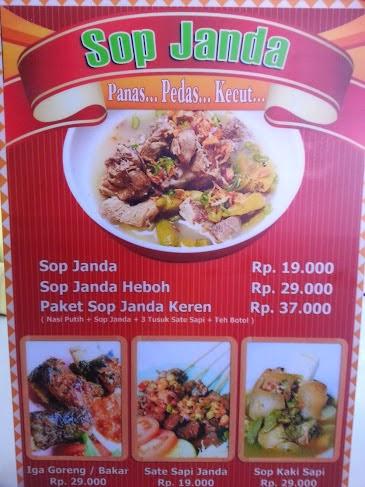 Di Padang, Warung Makan Gunakan Nama Tak Lazim Bakal Ditertibkan Satpol PP