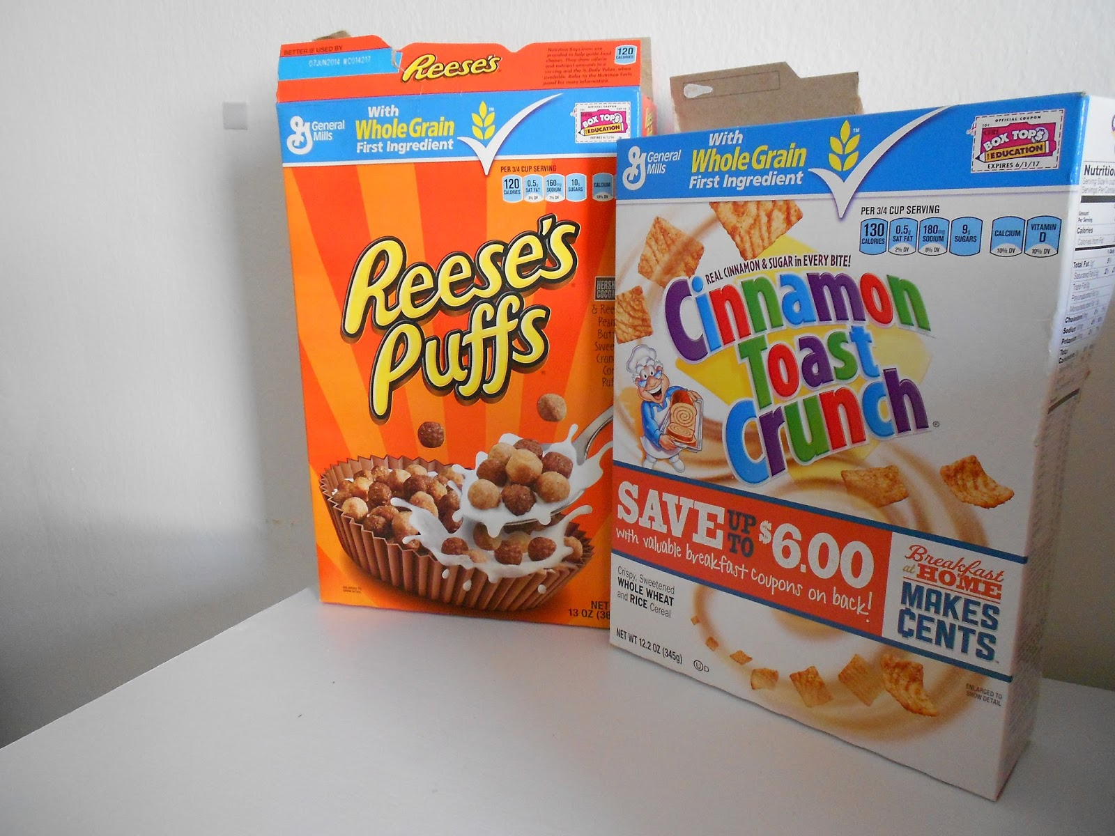 Kianna's Korner: DIY Recycling Cereal Boxes Two Ways